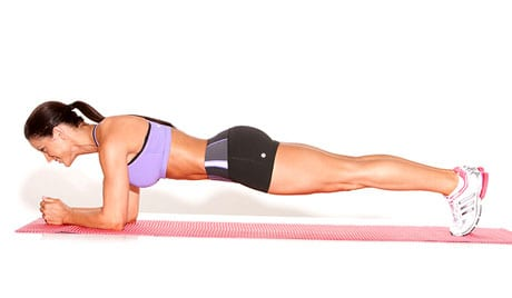 Bridge-Plank-on-Elbows