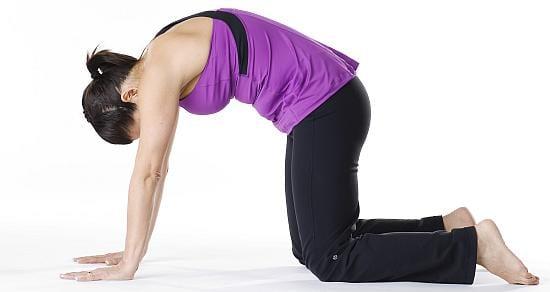 Marjaryasana-yoga-pose