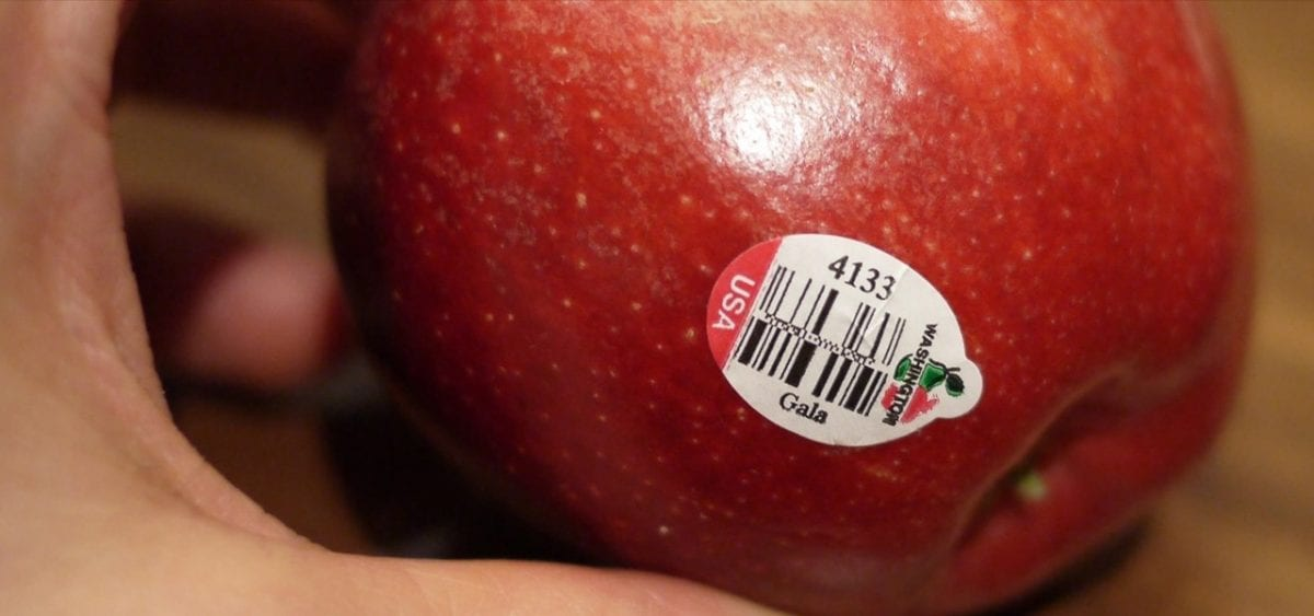 Stickers On Fruit