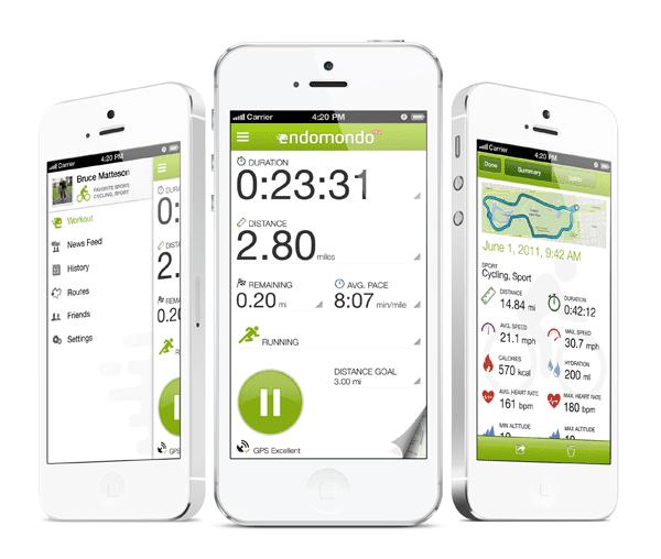 Výsledek obrázku pro endomondo app