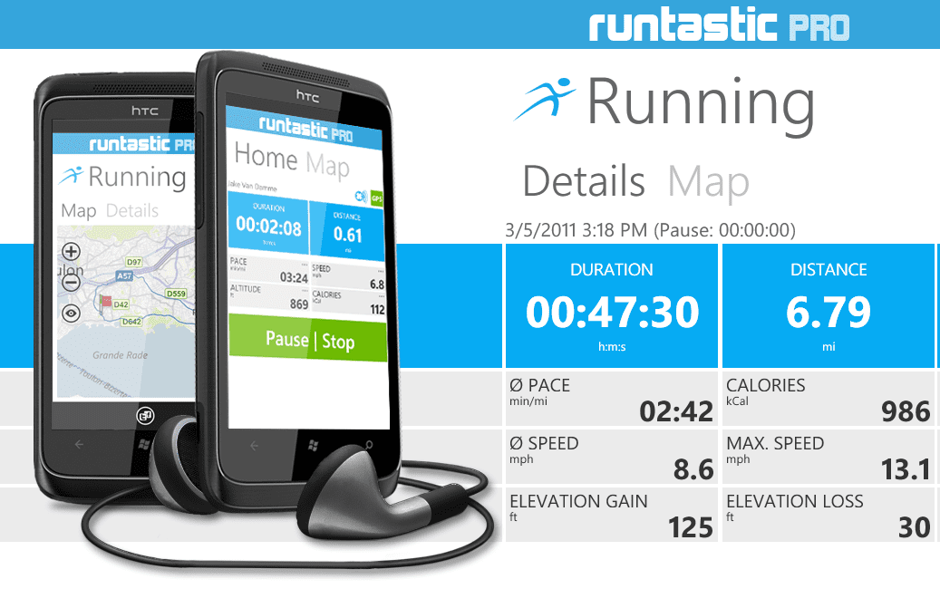 Running App # - Runtastic