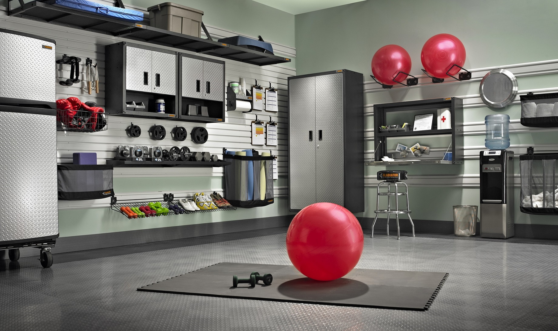 Transform Your Garage Into Own Personal Gym