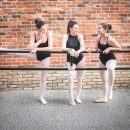 Women at ballet barre