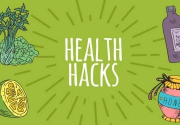 health hacks graphic