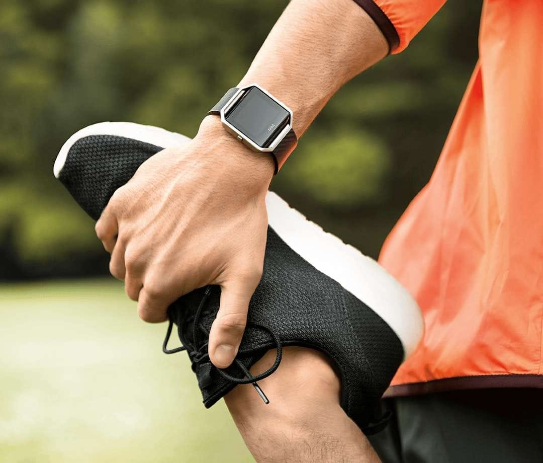 Fitbit in use of running