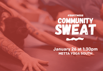 YEG Fitness Community Sweat Announcement