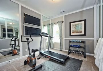 a well designed home gym