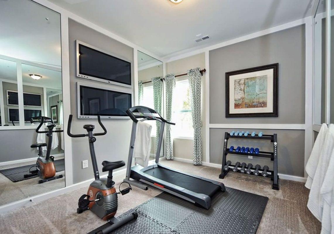 a well designed home gym