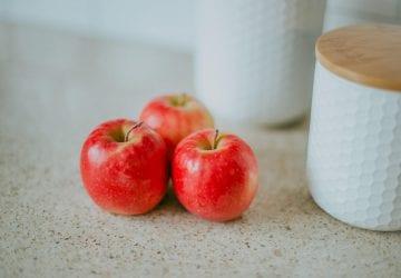 an assortment of apples
