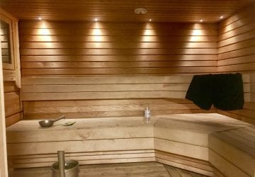 sauna at home