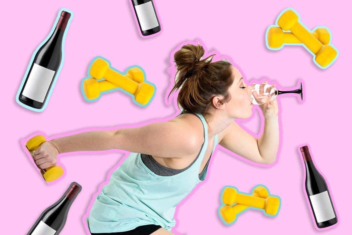 wine workout