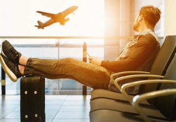 relax while travelling