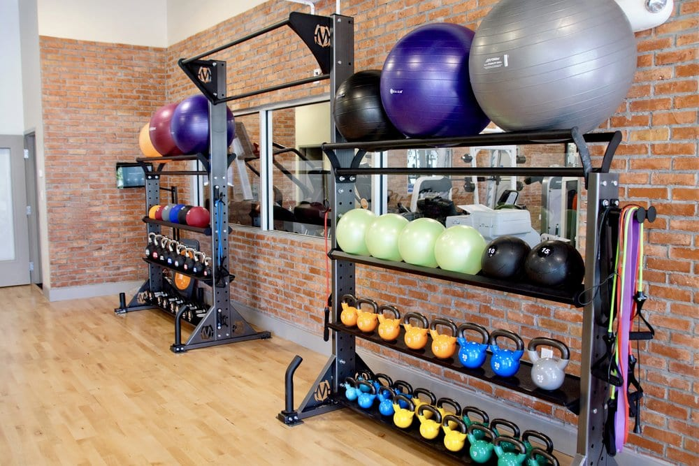 fitness equipment storage
