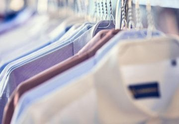 a selection of dress shirts
