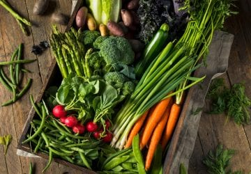 spring fruits and veg