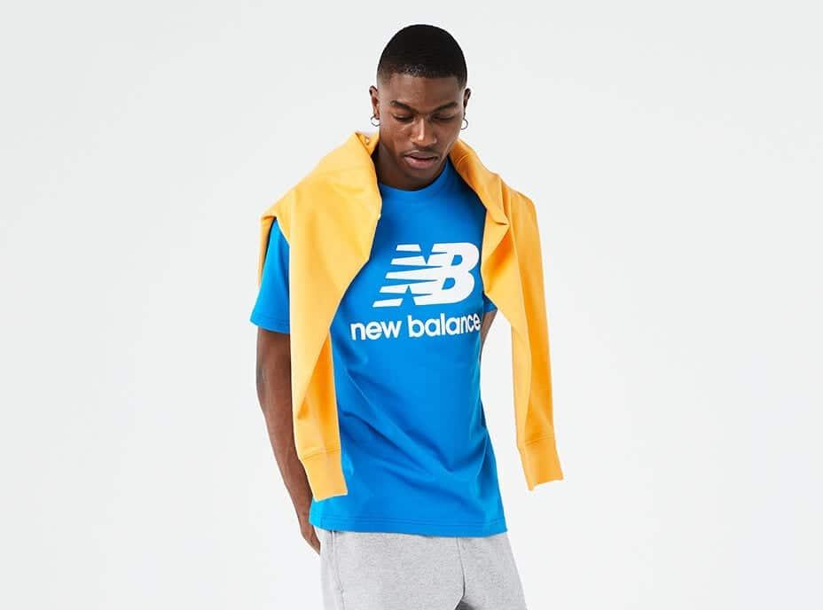 a man wearing fitness apparel
