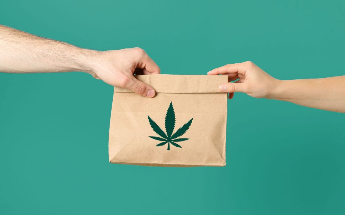 weed delivery service