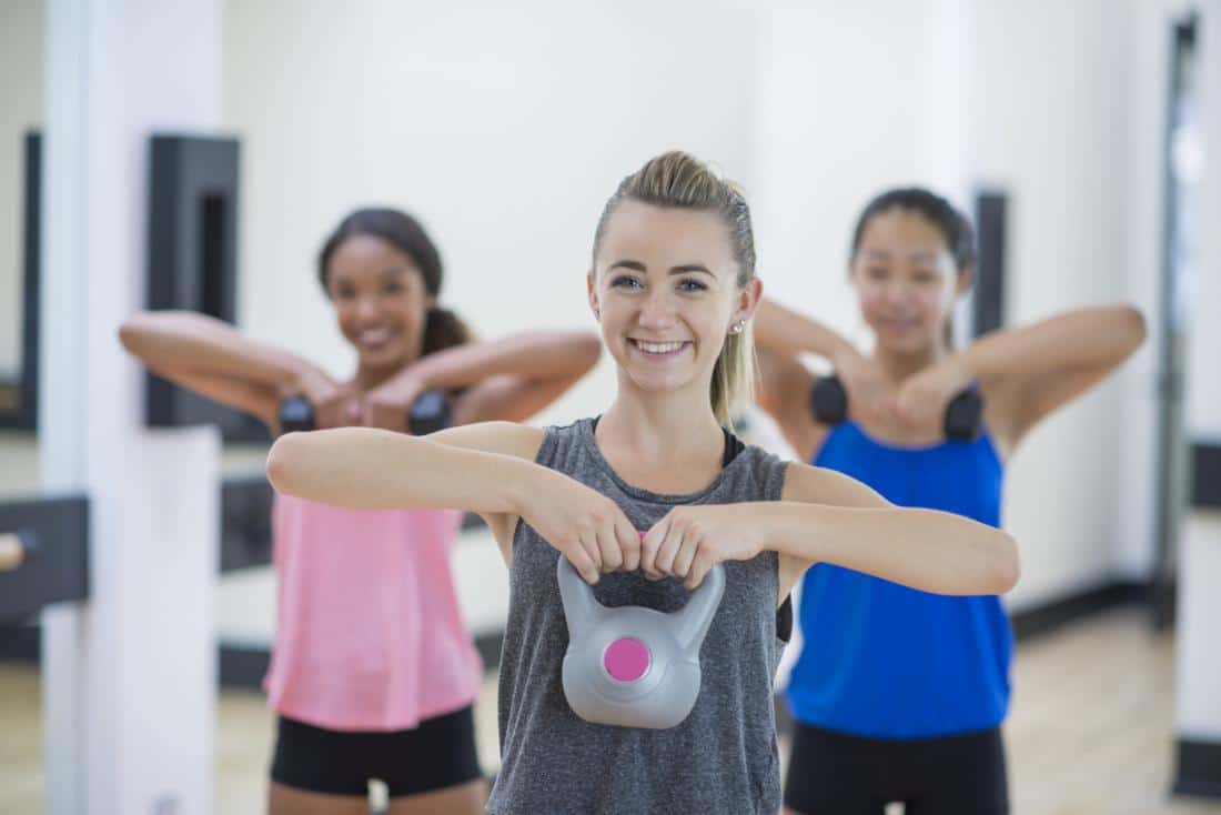 teens staying fit